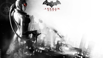 город, catwoman, arkham city, batman