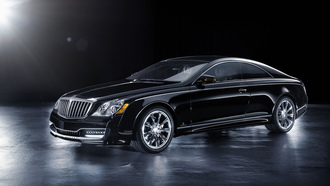 maybach, xenatec, черный