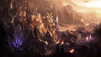 город, dominion, league of legends