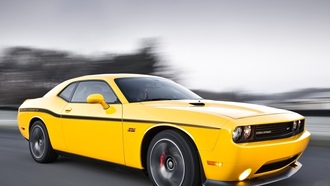 скорость, срт8, yellow jacket, challenger, челенжер, додж, мускул кар, dodge, 392, передок, srt8, желтый, muscle car