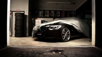 bmw 7_series, garage, vossen wheels, black