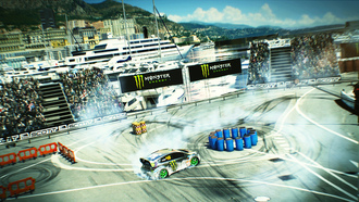 ford, monster energy, gymkhana, стадион, dirt 3, игра, монте-карло, game