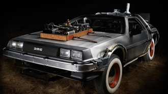 dmc-12, back to the future, delorean, назад в будущее