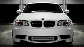 bmw 135, cars, cars wall, wallper, бмв, parking, wallpapers, сity, auto