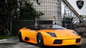 lamborghini, orange, оранжевый, 360 three sixty forged, ламборджини, мурселаго, lp640, murcielago