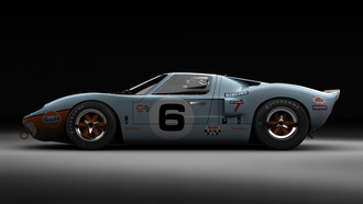 авто фото, авто обои, ford, gt40, auto wallpapers, форд, тачки, cars, mark_i_gulf_lemans_1969