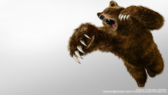bear, games, tekken