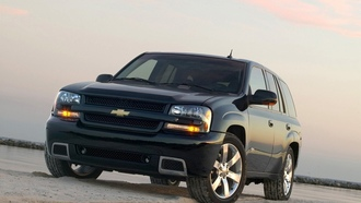 песок, ss, внедорожник, chevrolet, trailblazer