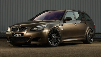 bmw, g-power, hurricane rs touring, m5