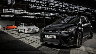 focus rs, ford, sierra rs, mixed, разные поколения, escort rs, cosworth, эскорт, ангар, форд, фокус, сиерра, 1600