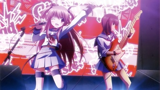 iwasawa, концерт, yui, angel beats!, гитара