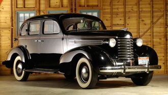 touring, олдсмобил, 1937, oldsmobile-six, sedanf, ретро
