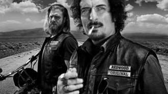 дети анархии, sons of anarchy, сериал, байкеры, чб