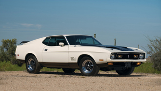mach i 429, muscle car, 1971, mustang, ford