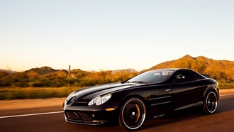 722 edition, auto, mercedes benz, cars, slr mclaren