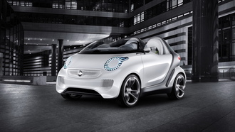 2011, смарт, концепт, concept, smart forspeed, hi-tech