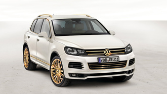авто обои, gold, auto wallpapers, авто фото, touareg, тачки, внедорожник, edition, cars, volkswagen