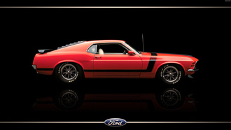 70, mustang, ford, boss302