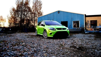 focus, камешки, rc, home, green, камни, дом, ford