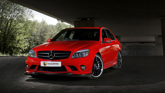 mulgari, mercedes, benz, red, sport, sedan