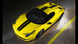 capristo, ferrari, 458, italia, yellow