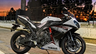 yamaha, single, eagle
