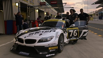 team nfs, bmw z4, dubai 2011