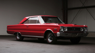 plymouth, belvedere, gtx, red