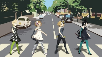 beatles, k-on, abbey road