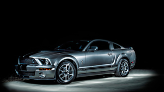 mustanggt, ночь, ford