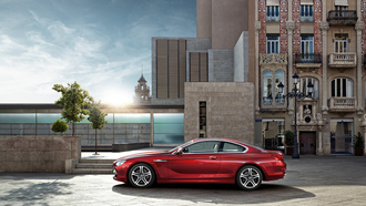 bmw6series, cuope, vermillion