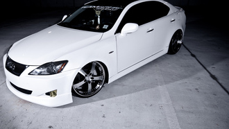 white, is, team sold, lexus, vossen wheels, белый, лексус