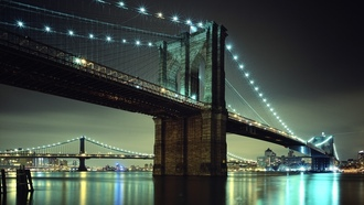 бруклин, brooklyn, нью йорк, brooklyn bridge, new york