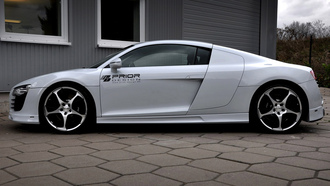 машина, 2000x1273, car, audi r8 carbon limited edition, prior design, tuning