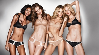 models, rosie huntington-whitely, rosie, chanel iman, victoria, erin heatherton, huntington, candice swanepoel, secret, whiteley