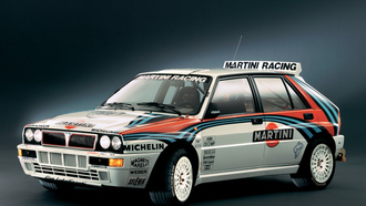 delta, rally, evoluzione, martini racing, lancia, michelin, hf, integrale