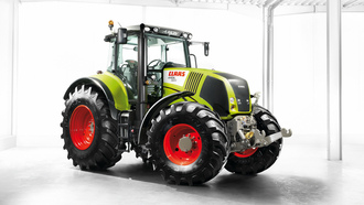 claas, трактор, axion 850