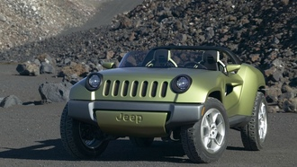jeep, concept, renegade, обои, дорога, камни, скалы, горы, pictures, тюнинг