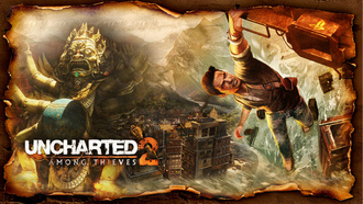 натан дрейк, uncharted, among thieves, uncharted 2
