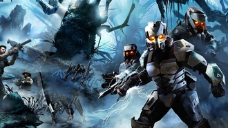 автомат, warriors, guerrilla games, боцы, killzone 3, киллзон 3