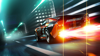 ridge racer 3d, wallpapers, game, racing