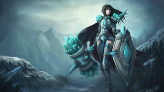 тарик, lol, gay lord, taric, support, league of legends, female