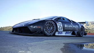 #25 car of frank kechele and sergio jimenez, lamborghini murcielago, fia gt1 world championship