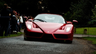 red, f50, ferrari enzo