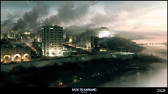 back to karkand, игра, game, battlefield 3