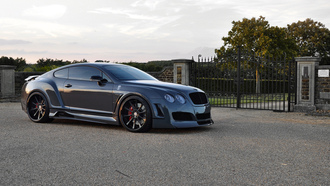 континенталь, tuning, bentley, gt, continental, бэнтли