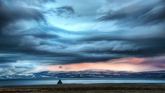 the weather station, clouds, исландия, iceland, europe, north atlantic