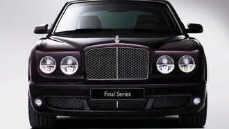 front, bentley, arnage