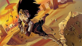 gunnm, девочка, battle angel alita