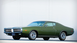 dodge, charger, 1972